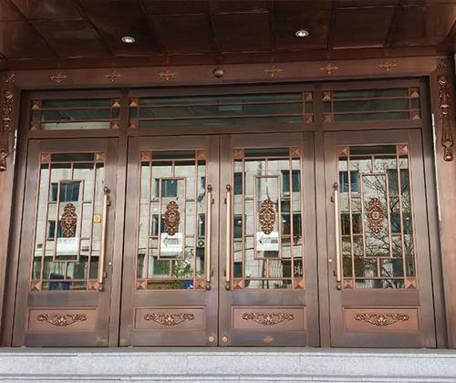 海城肾病医院铜门