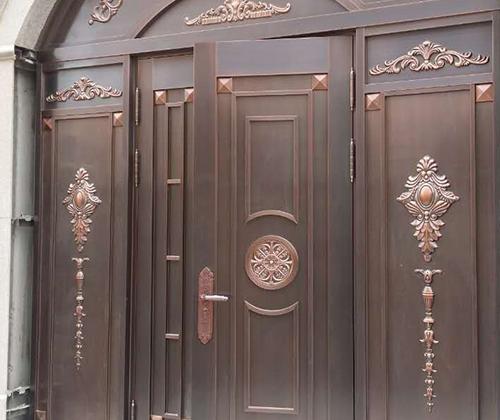 中俊汤泉小区322铜门