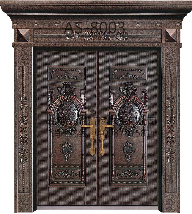 铸铝门AS-8003