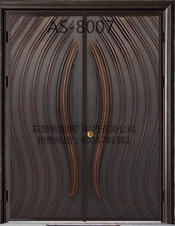 铸铝门 AS-8007