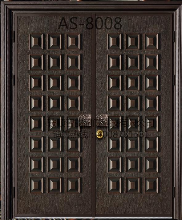 铸铝门AS-008