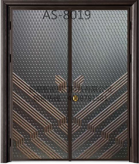 铸铝门AS-8019