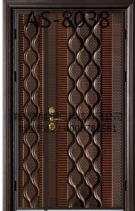 铸铝门AS-8038