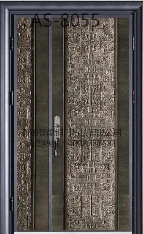 铸铝门AS-8055