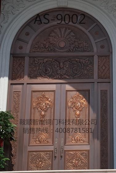 别墅铜门AS-9002