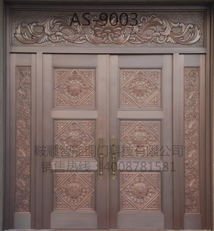 别墅铜门AS9003