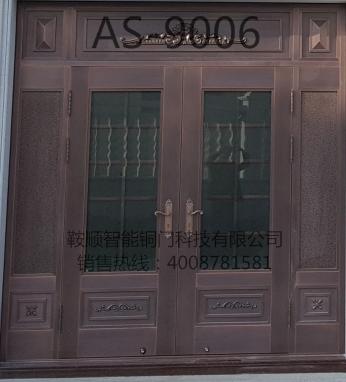 别墅铜门AS-9006