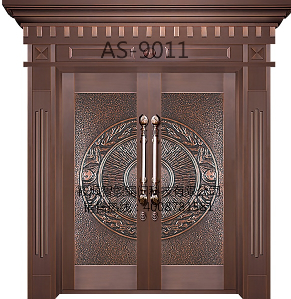 别墅铜门AS-9011