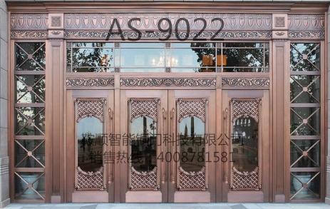 别墅铜门AS9022
