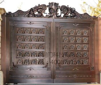 庭院铜门AS-9028