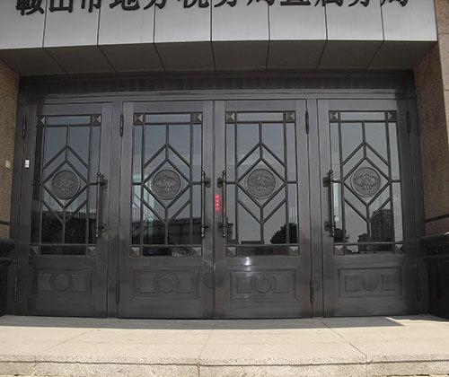 政府高档铜门