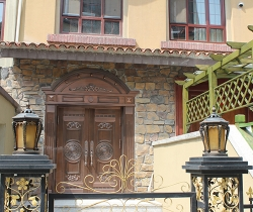 别墅高档铜门