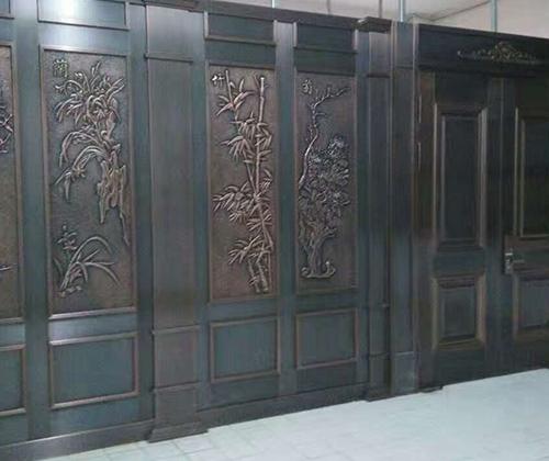 政府机关铜门