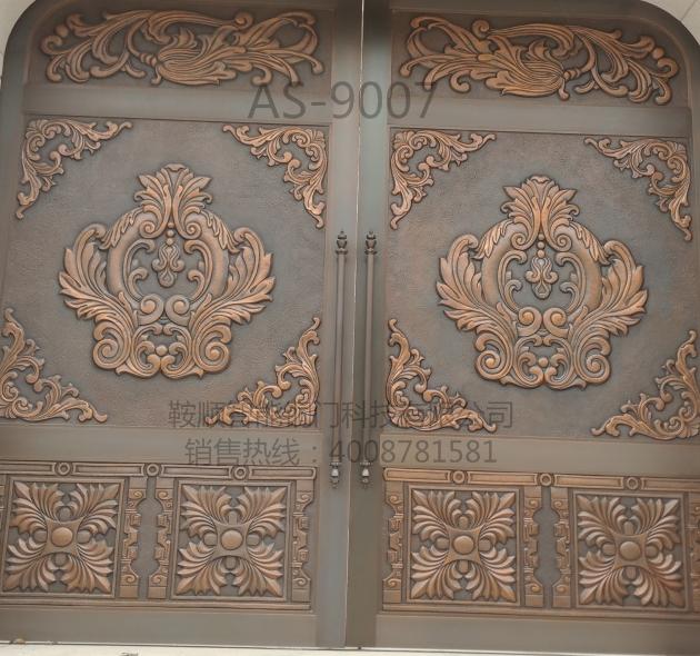 别墅铜门AS-9007