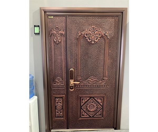 纯手工铜门